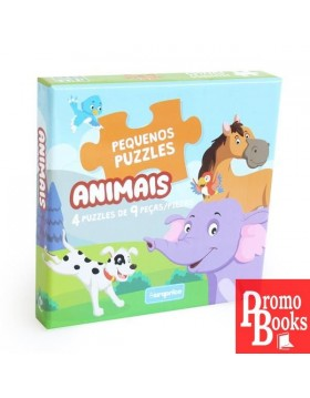 PEQUENOS PUZZLES: ANIMAIS