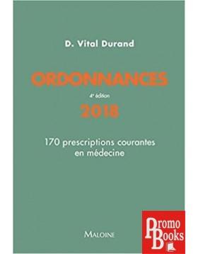 ORDONNANCES 170 PRESCRIPTIONS