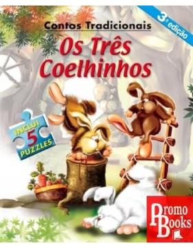 OS TRÊS COELHINHOS - 5 PUZZLES