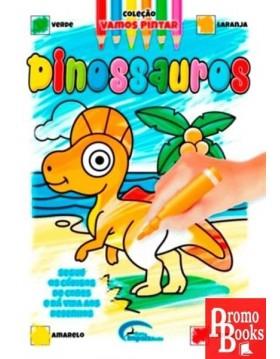 DINOSSAUROS - VAMOS PINTAR