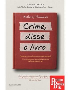 CRIME, DISSE O LIVRO