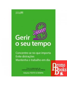 GERIR O SEU TEMPO